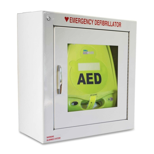 AED Plus Cabinet - Emergency Defibrillator