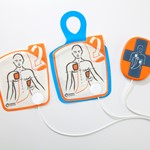 adult electrodes plus cpr assist device